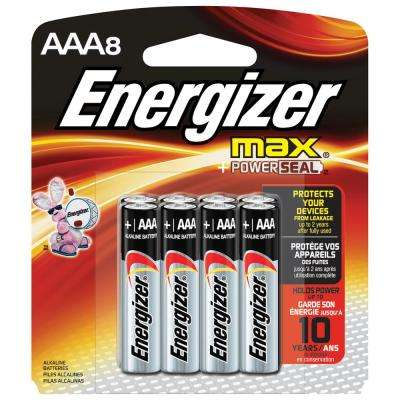 Alkaline AAA Battery 8 Pack