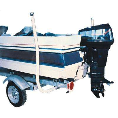 44 in. Boat Guide, White