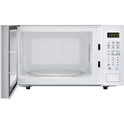 Carousel 1.4 cu. ft. Countertop Microwave in White with Sensor Cooking Technology