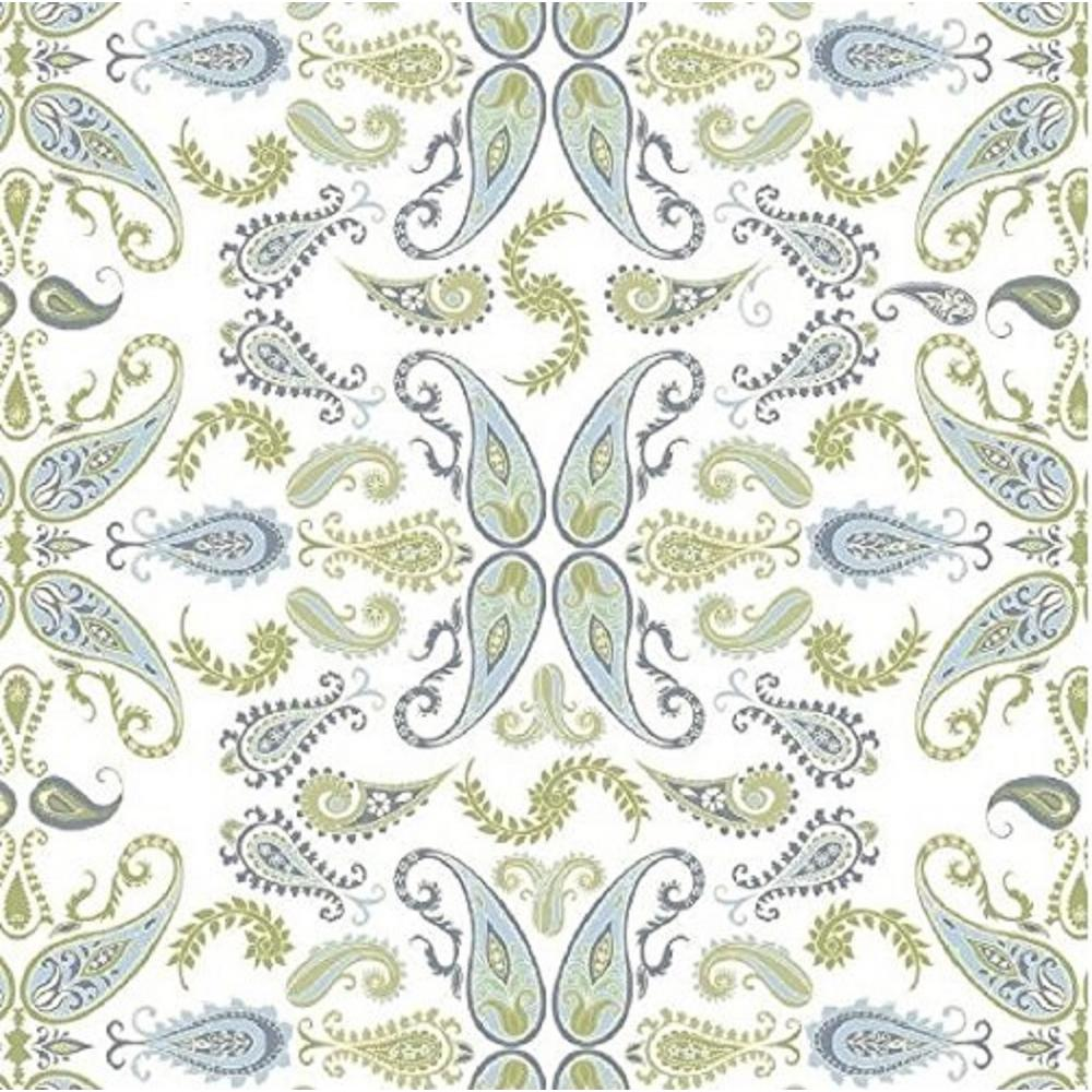 Con Tact Grip Prints Abbey Blue Sage Green And White Shelf Drawer Liner