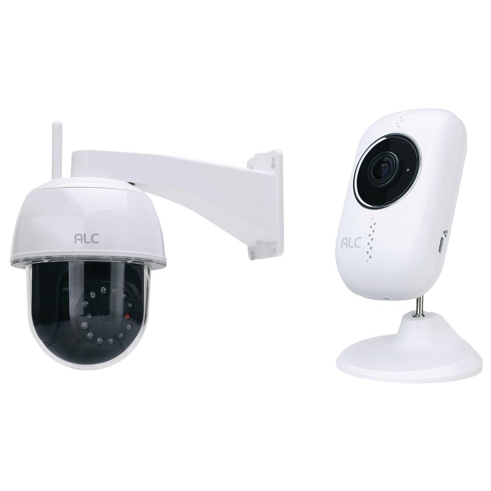 Alc 1080p Full Hd Outdoor Pan And Tilt Wi Fi Camera With