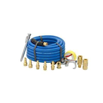 1/4 in. x 25 ft. Air Compressor Kit (13-Piece)