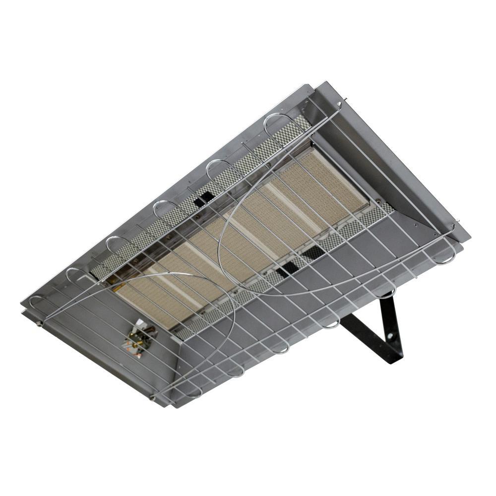 30,000 BTU LP Overhead Infrared Garage Heater with Adjustable Thermostat
