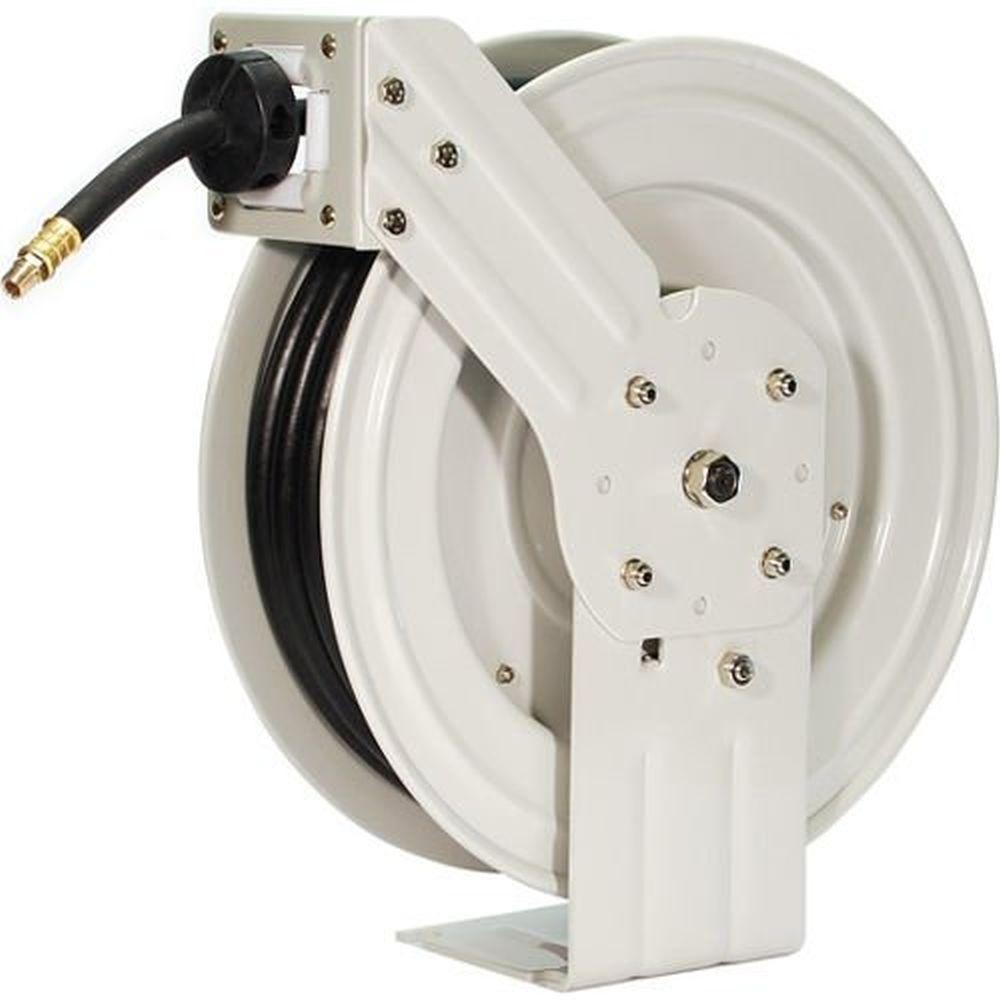 Primefit 50 Ft Industrial Grade Retractable Air Hose Reel With