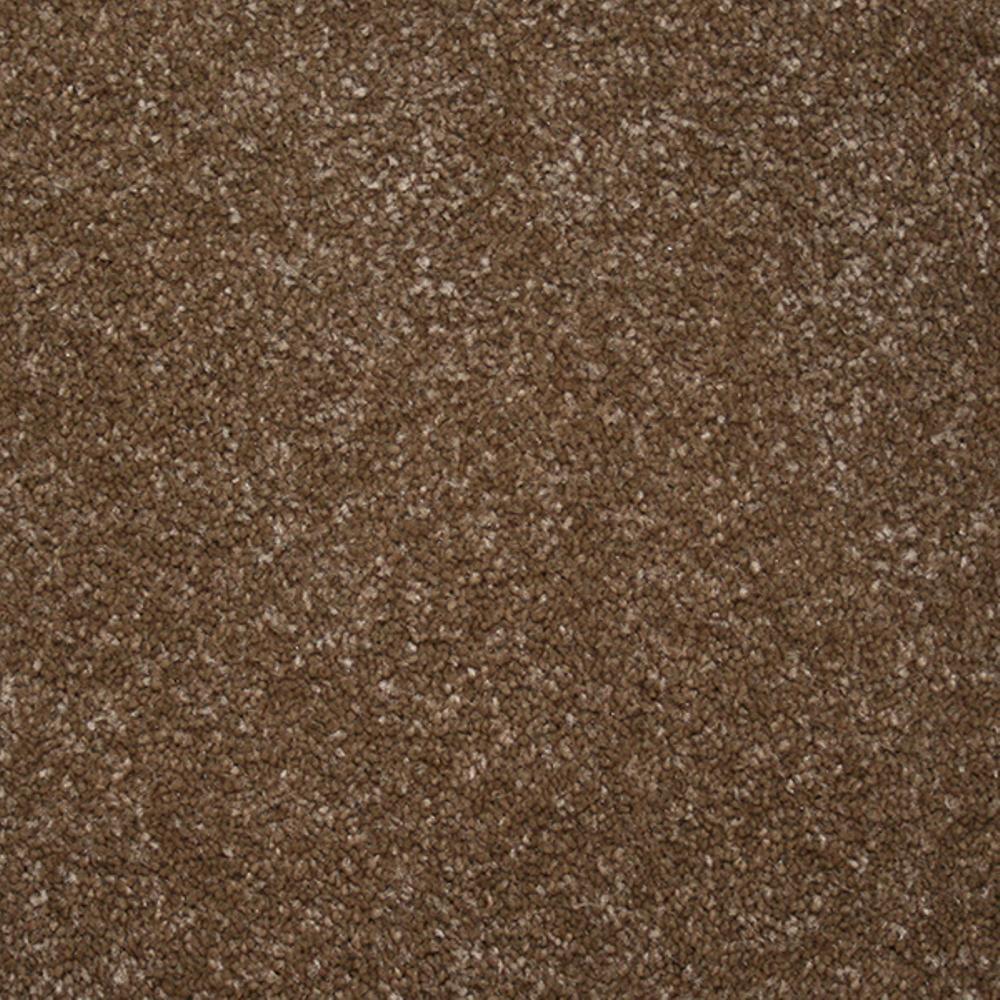 Carpet Sample - Starry Night II - Color Tea Room Texture 8 in. x 8 in.