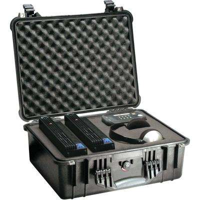 20.62 in. Medium Hard Case with Foam, Black