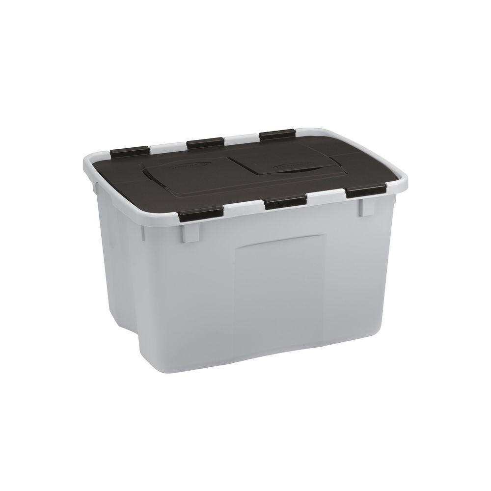 Suncast Storage Bins Totes Storage Organization The Home Depot