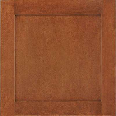 14-1/2 in. x 14-9/16 in. Cabinet Door Sample in Leesburg Maple Cognac