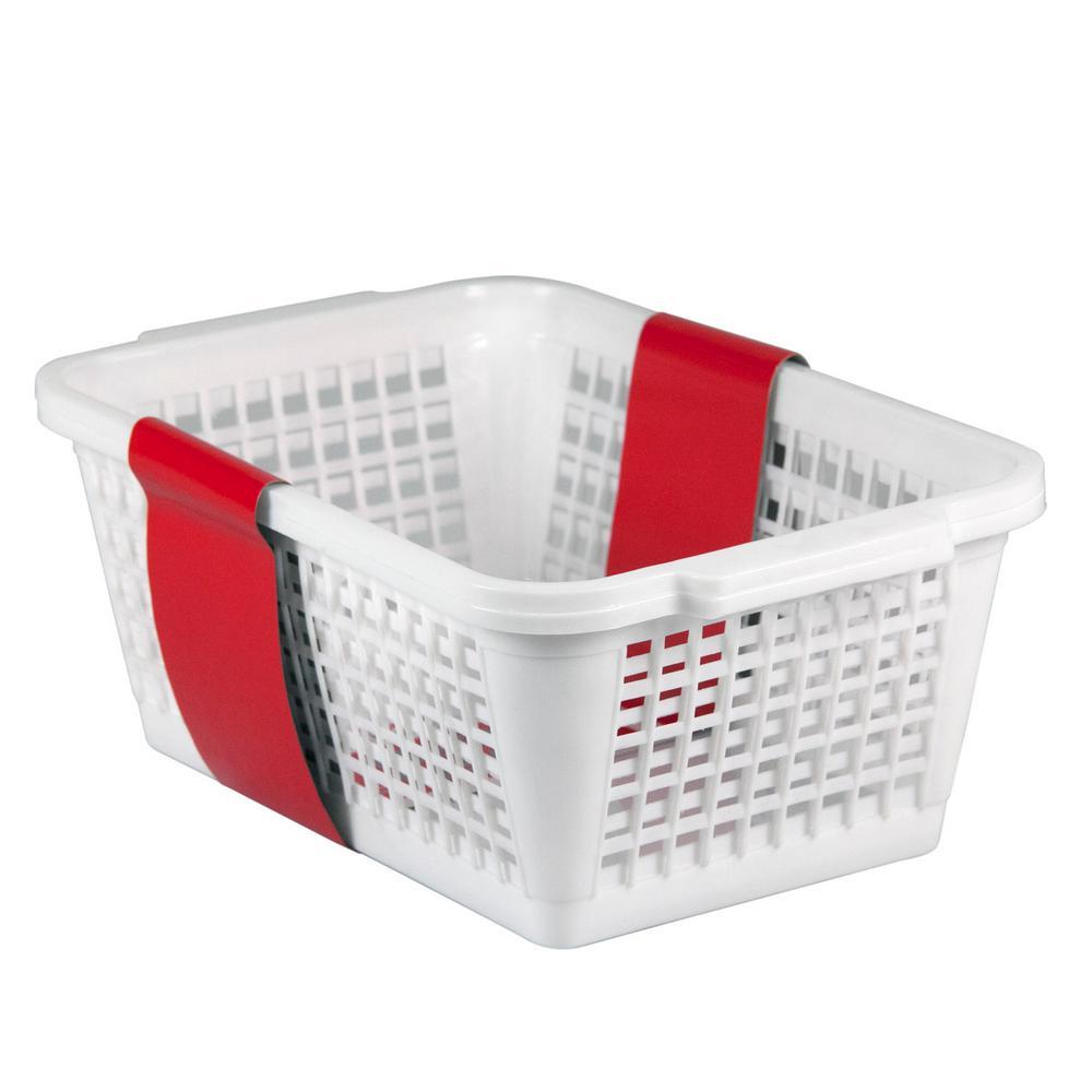 8 in. x 12 in. Plastic Basket