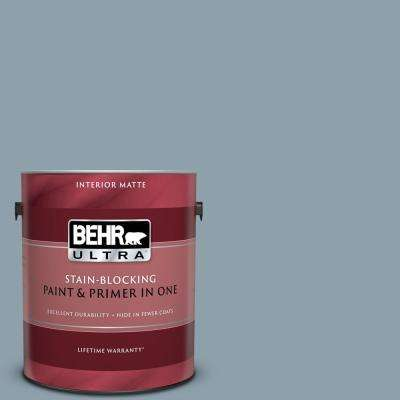 1 gal. #N480-4 French Colony Matte Interior Paint and Primer in One