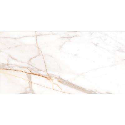 Rosa Bianca Calacatta Gold Technic Granite 24 in. x 48 in. Polished Porcelain Floor and Wall Tile ( 24 sq. ft. )