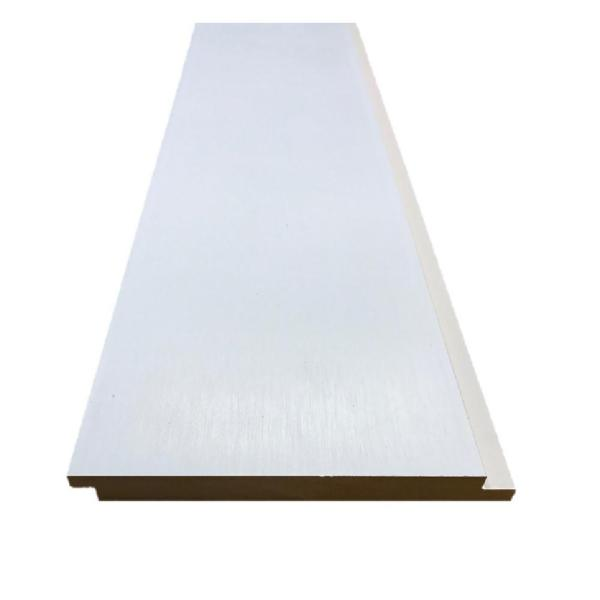 Shop 0 591 in x 6 000 in x 12 ft Primed MDF Shiplap Siding from Home Depot on Openhaus