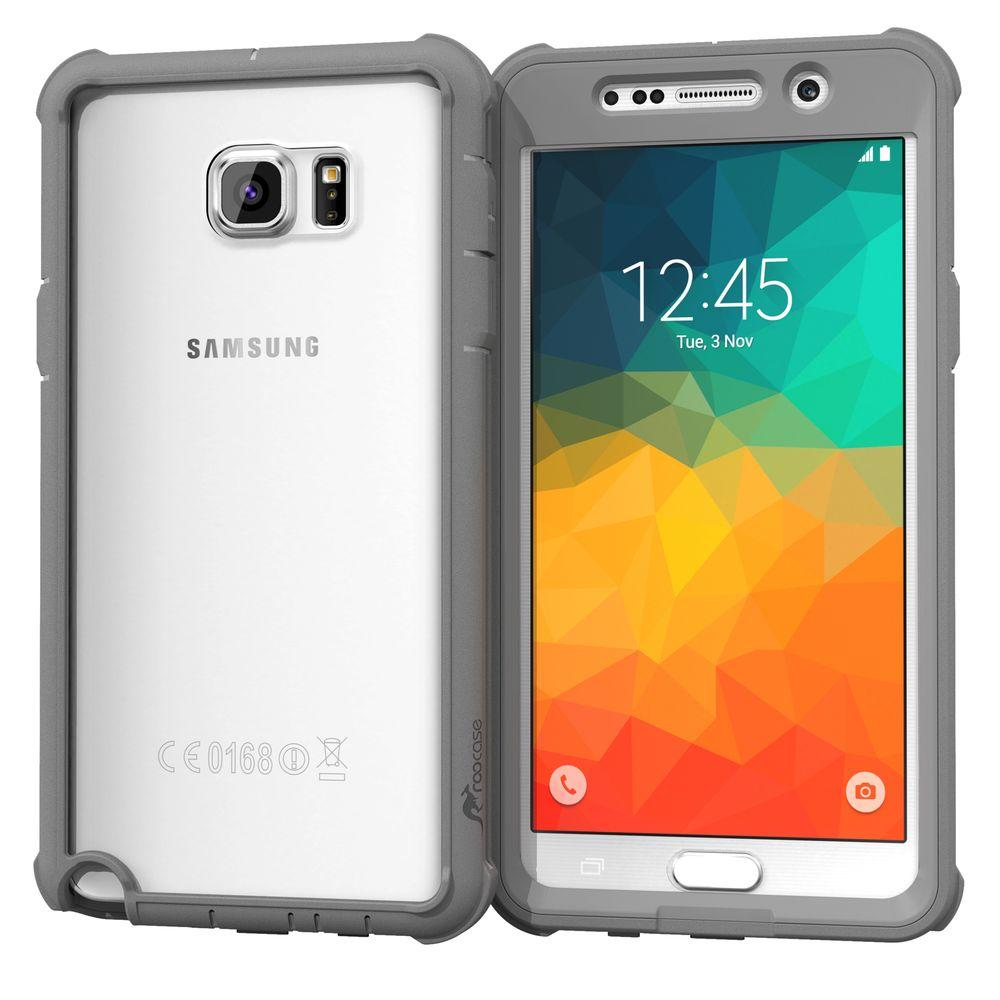 Glacier Tough Hybrid PC TPU Rugged Case for Samsung Galaxy Note5