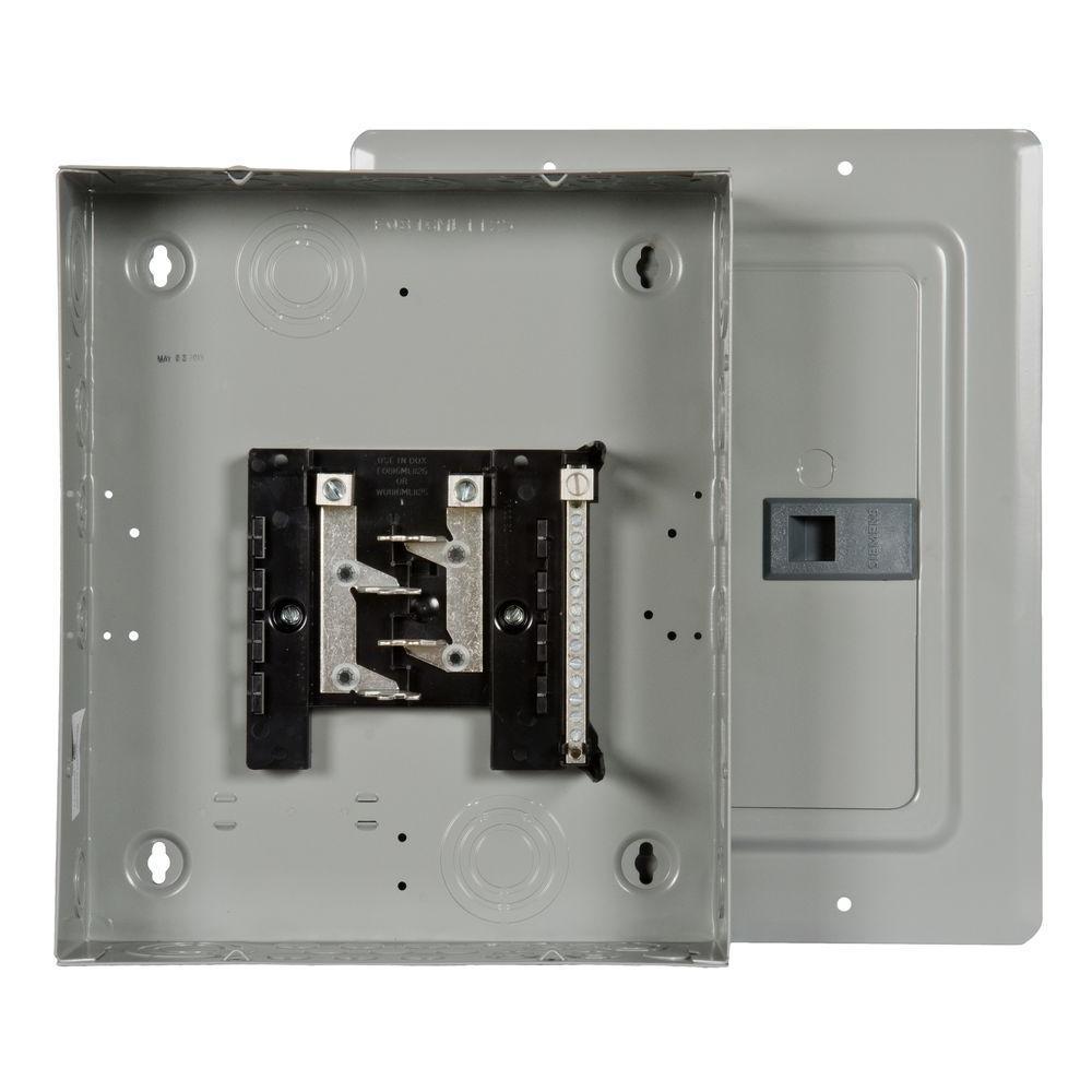 EQ 125 Amp 8-Space 16-Circuit Main Lug Flush Mount Indoor Load Center