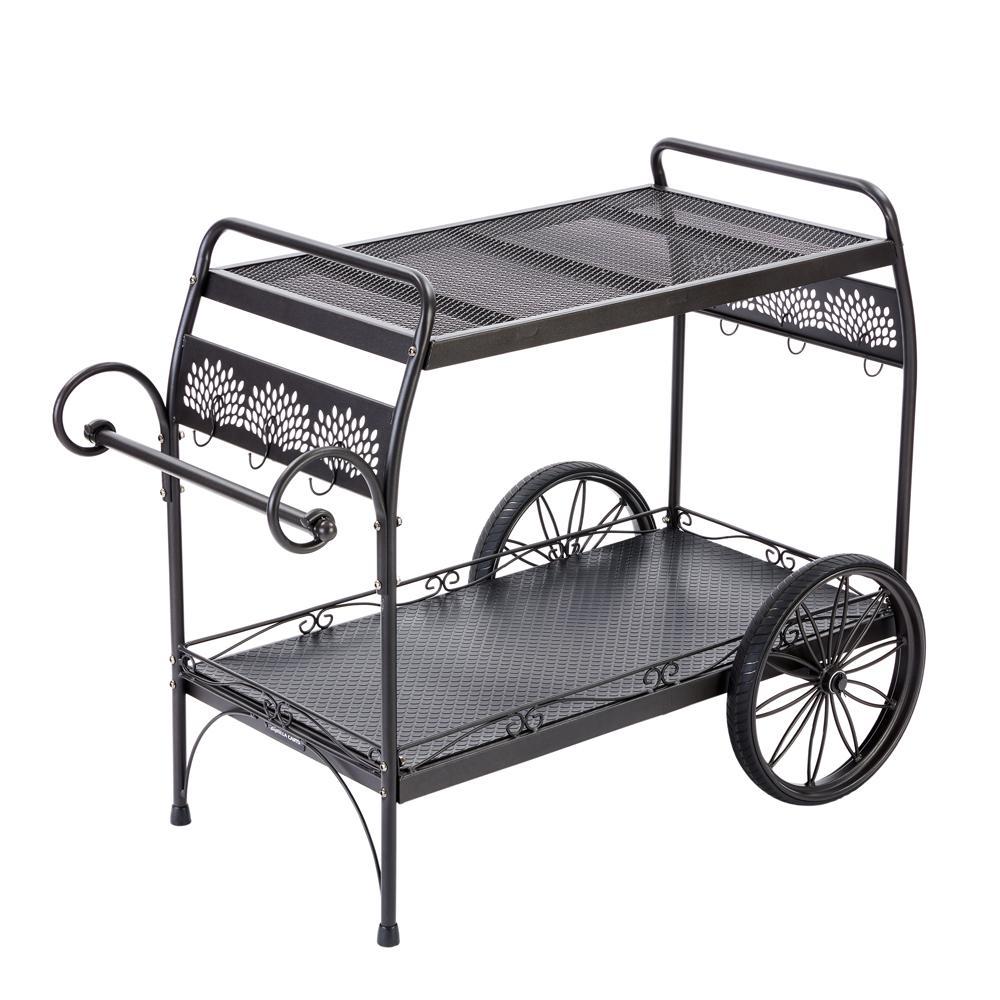 Gorilla Carts Oversized Steel Patio Cart