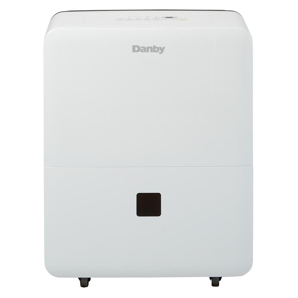 Danby 30 Pint Dehumidifier, Whites