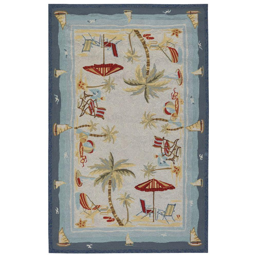 f4eaf368fcd580 This review is from Outdoor Escape Pacific Heights Ocean 6 ft. x 8 ft.  Indoor Outdoor Area Rug