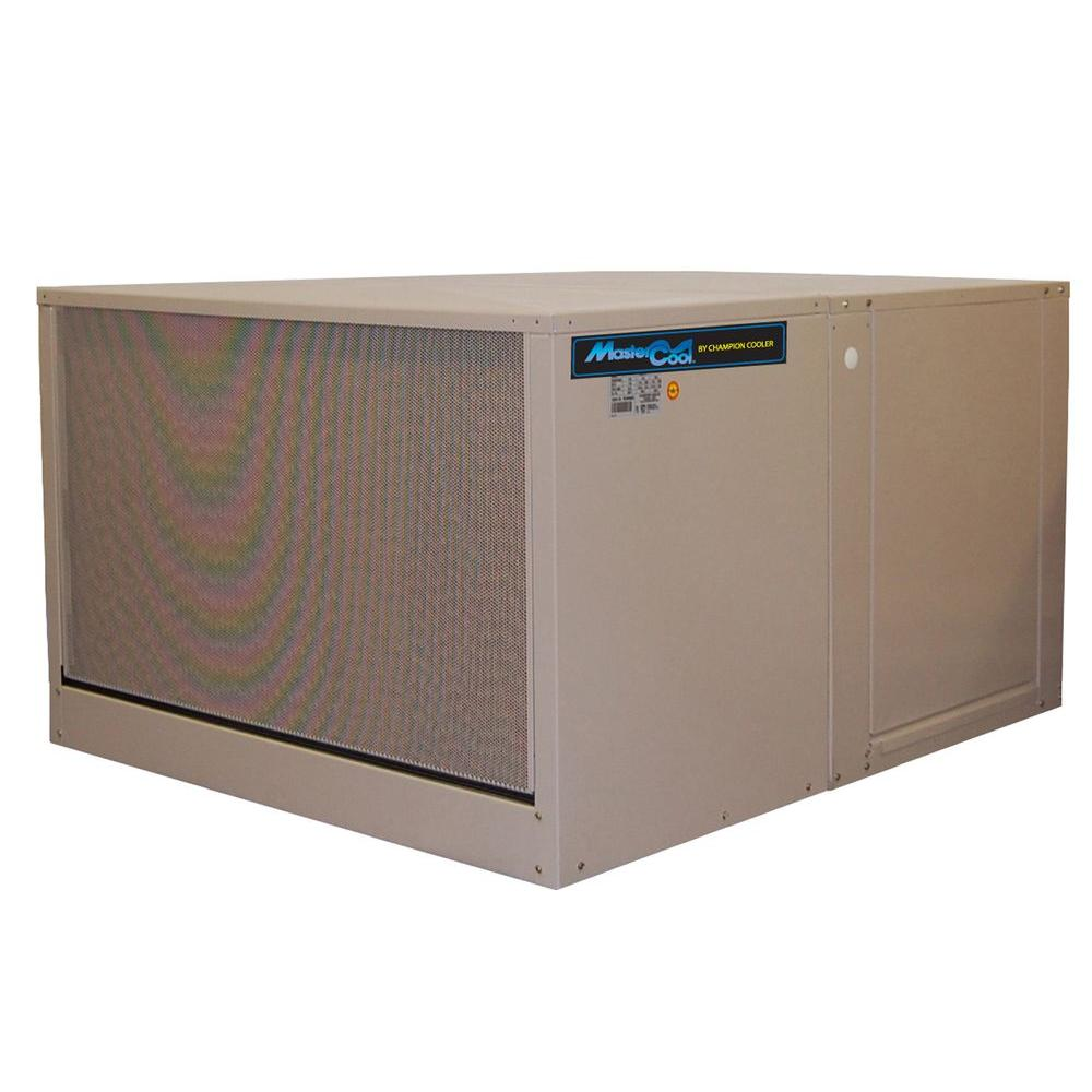 MasterCool 7000 CFM 120-Volt 2-Speed Down-Draft Roof 12 in. Media Evaporative Cooler for 2300 sq. ft. (with Motor)