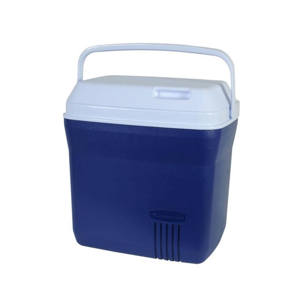 Rubbermaid 20 Qt Modern Blue Cooler Fg2a2704modbl The