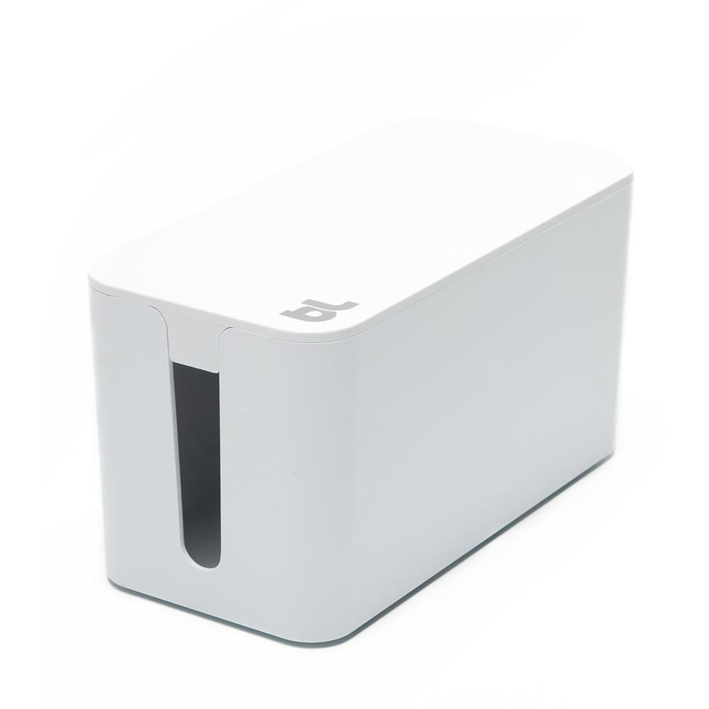 CableBox Mini with Surge Protector, White