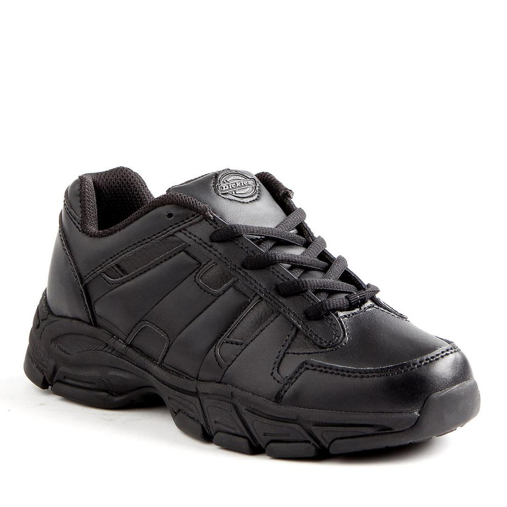 Dickies Athletic Lace Men Size 10 Black Slip Resistant Safety Work Shoe