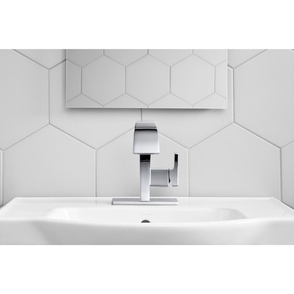 Katun Single Hole Single-Handle Bathroom Faucet in Polished Chrome