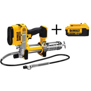 Dewalt 20-Volt MAX Lithium Ion Cordless Grease Gun (Tool-Only) with Bonus XR 4.0 Ahr Battery Pack by DEWALT