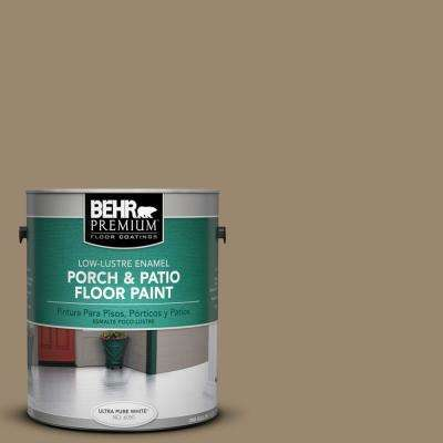 1 gal. #710D-5 Mississippi Mud Low-Luster Porch and Patio Floor Paint