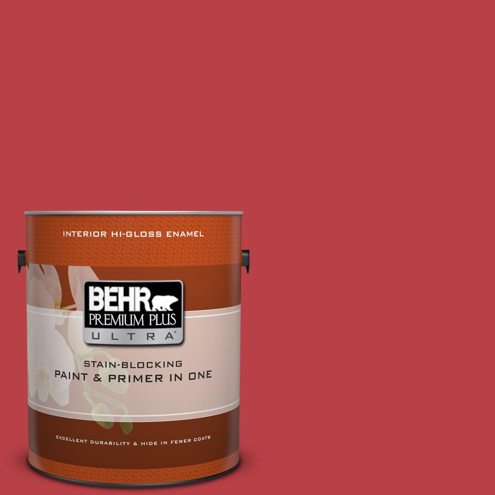 Home Decorators Collection Hdc Md 16 Cherry Red Hi Gloss Enamel Interior Paint Primer