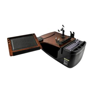 Autoexec Reach Desk Front Seat Mahogany With Phone Mount