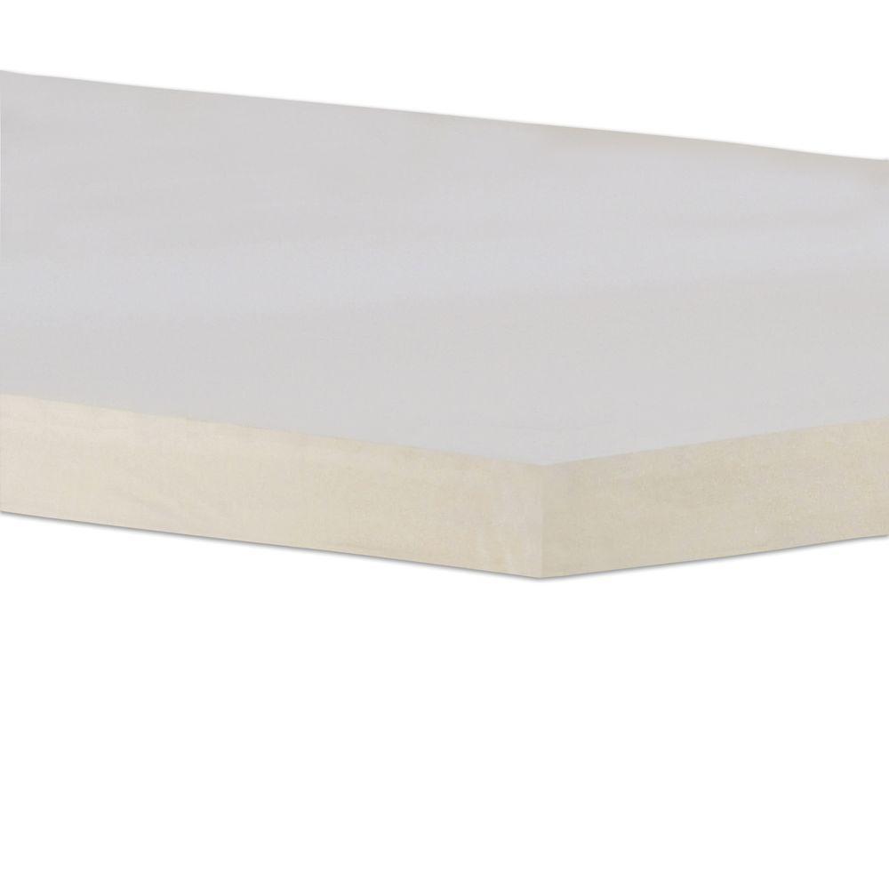 boyd specialty sleep eastern king size 3 in gel memory foam mattress topper