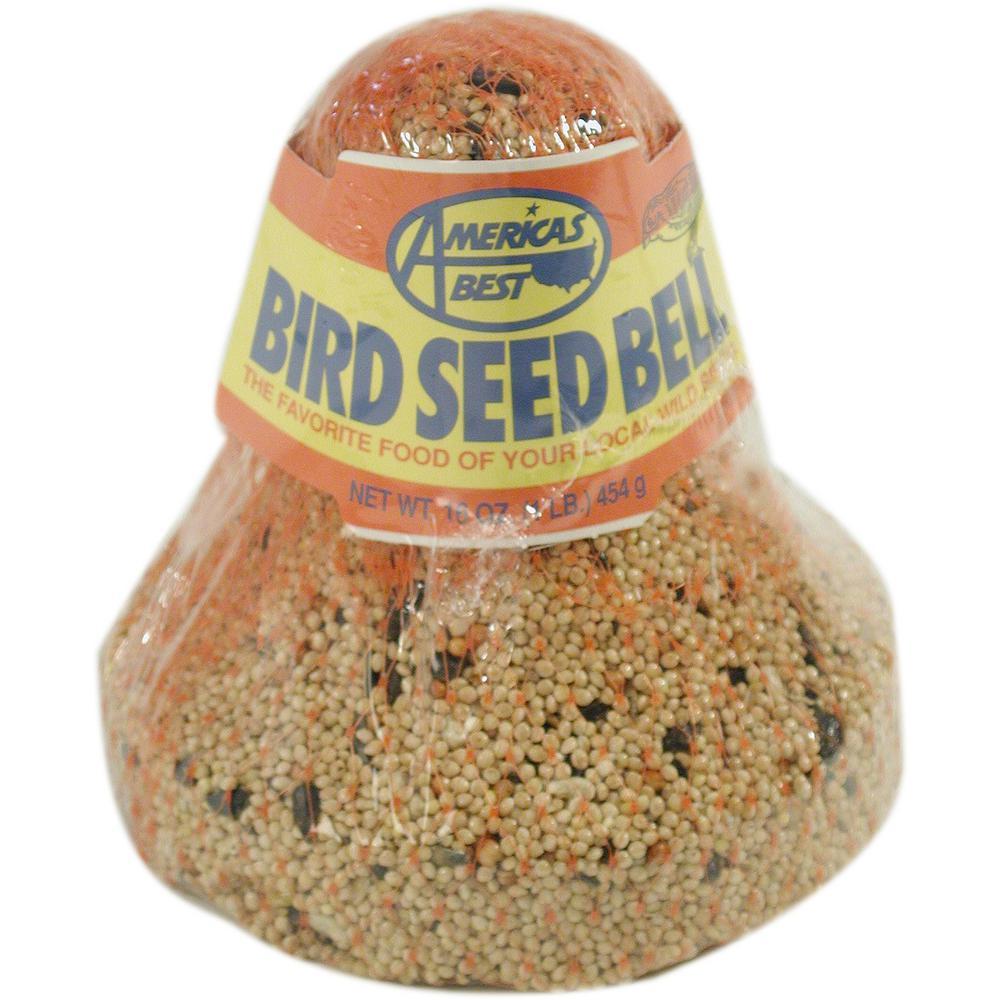1 lb. Bird Seed Bell