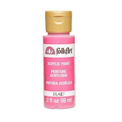 2-oz. Hot Pink Acrylic Craft Paint