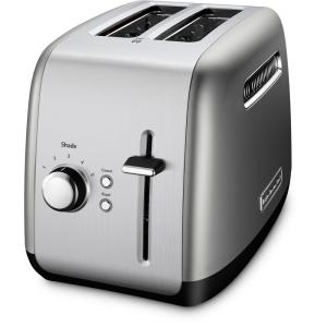 KitchenAid 2-Slice Silver Toaster by KitchenAid