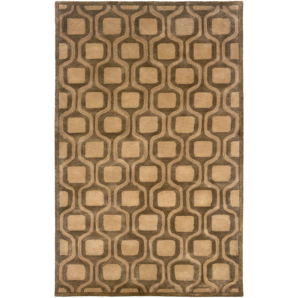 Contemporary Natural 5 ft. x 7 ft. 9 in. Plush Indoor