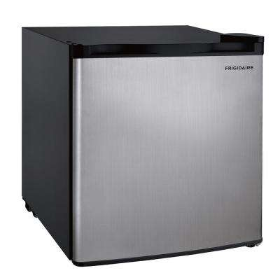 1.6 cu. ft. Mini Refrigerator in Stainless Steel