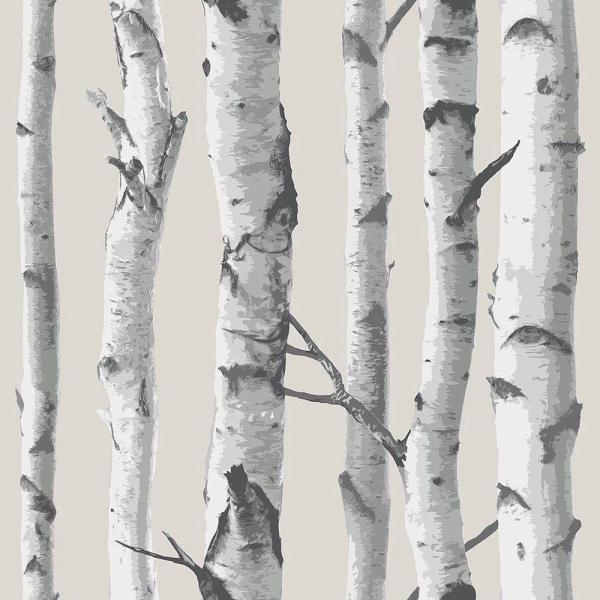 Birch Tree Vinyl Strippable Wallpaper (Covers 30.75 sq. ft.)