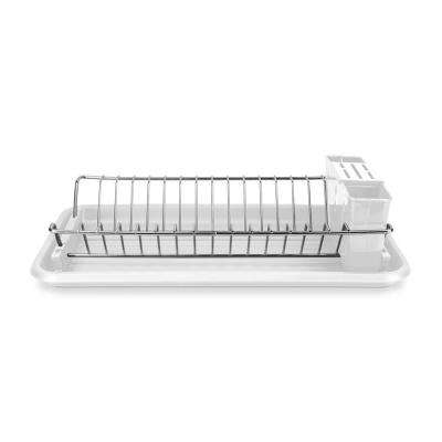 Clear Compact Dish Drainer