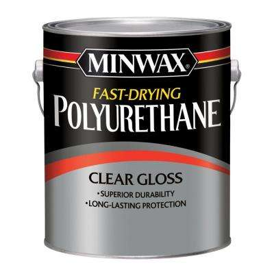 1 Gal. Gloss Fast Drying Polyurethane (2 Pack)
