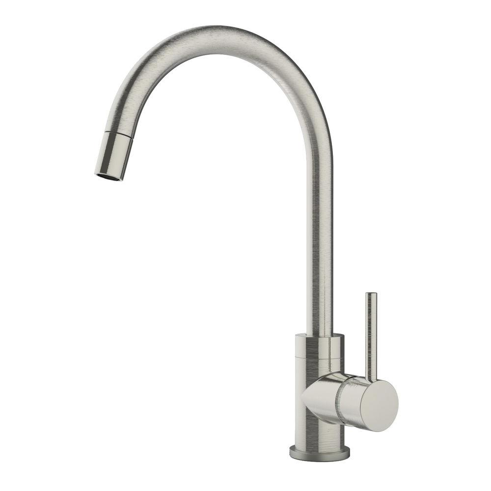 symmons kitchen faucets symmons dia single handle pull sprayer kitchen faucet 15096