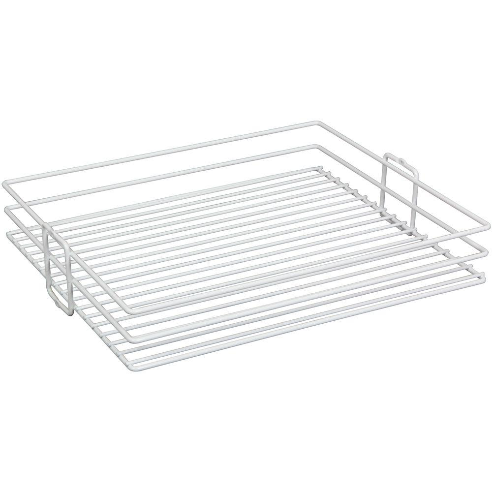 Knape & Vogt 4.13 in. x 14 in. x 20.44 in. Wire Roll Out Basket