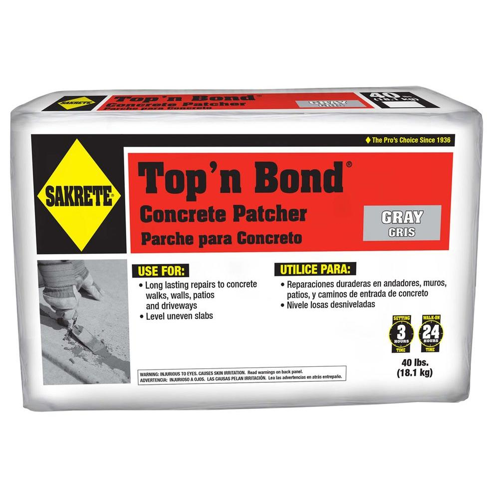 SAKRETE 40 lb.Top 'N Bond Concrete Patcher in Gray