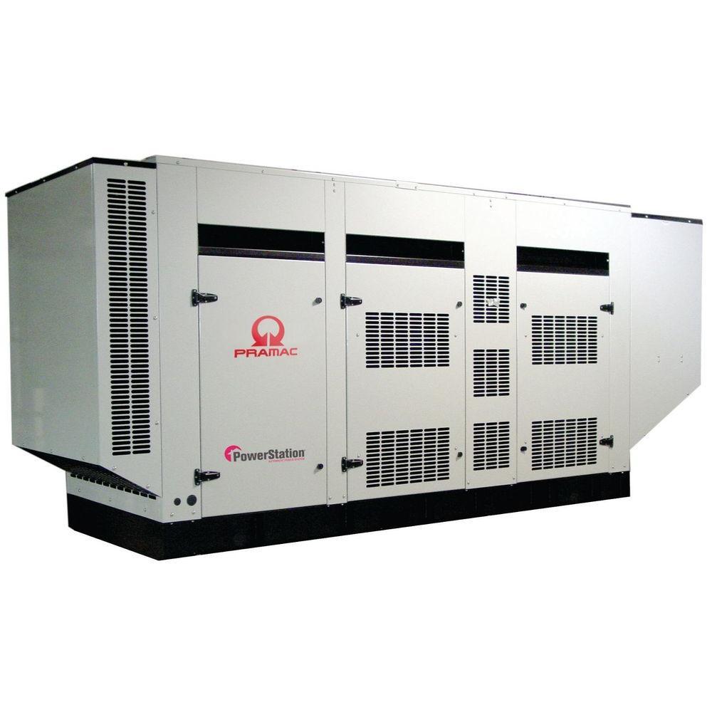 null 156,300-Watt 433-Amp Liquid Cooled Diesel Genset Standby Generator