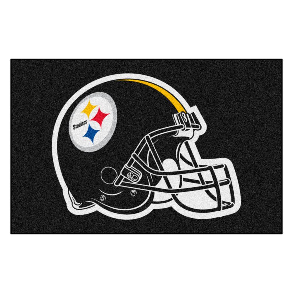 NFL Pittsburgh Steelers 19 in. x 30 in. Starter Mat Indoor Accent Rug