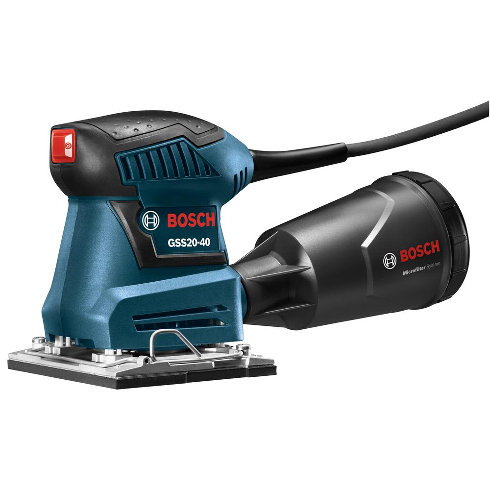 Bosch 2 Amp 1/4 in. Corded Sheet Orbital Finishing Sander