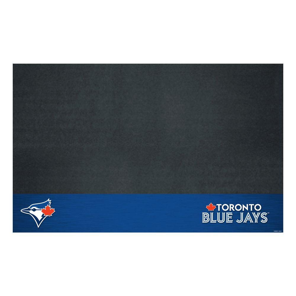Fanmats Toronto Blue Jays 26 In X 42 In Grill Mat 12172