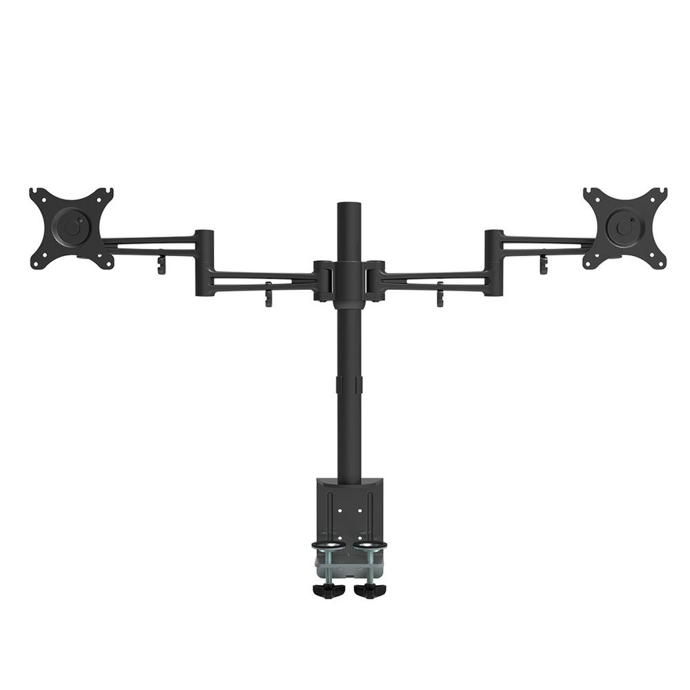 Samsung Gas Spring Dual Monitor Arm Desk Mount Stand Fits...