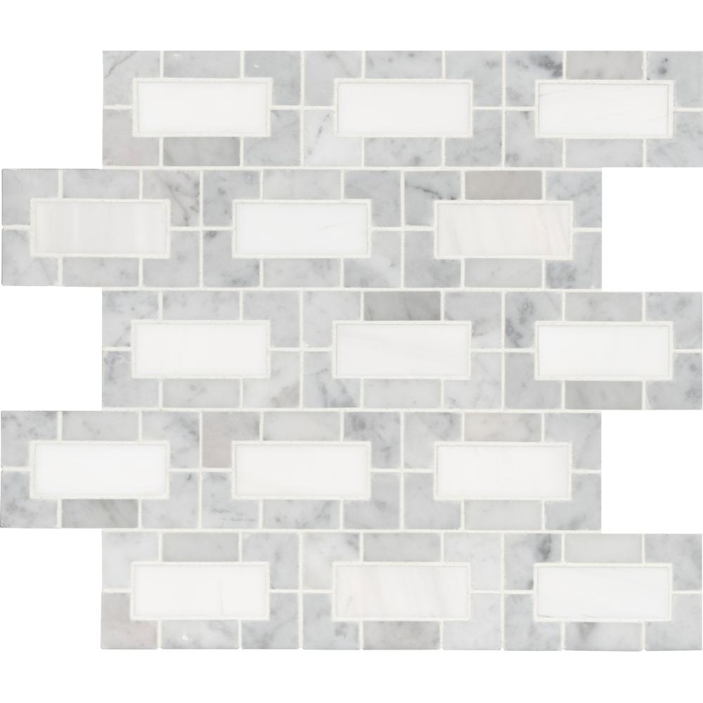 tiles for bathroom msi angora herringbone 12 in x 12 in x 10mm polished 11197