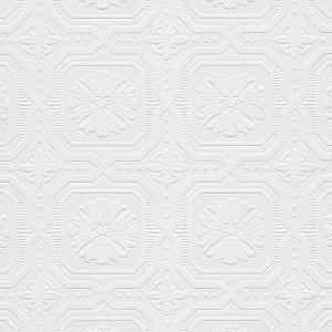 Norwall Tin Tiles Paintable Wallpaper by Norwall