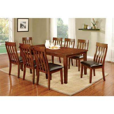 Foxville Cherry Transitional Style Dining Table